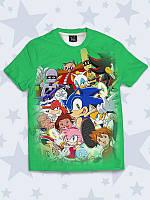 Детская футболка Соник и друзья