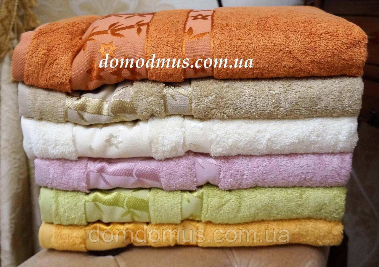 "Махровое полотенце ""Vip Bambo-Elit"" 90*150 (100% бамбук), Puppila, Турция 5025"