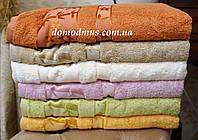 Банное махровое полотенце 70*140 (100% бамбук), Puppila, Турция