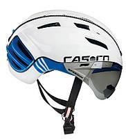 Велошлем Casco SPEEDser-TC plus white-blue, фото 1