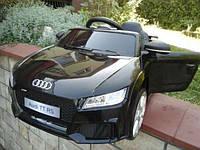 Детский электромобиль Audi R8 2198 , пульт д/у , мягкие колеса , кожа