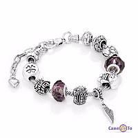 Браслет в стилі Пандора Pandora Purple Dreams, 1001199, 0