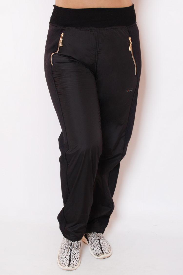 fb4578e2bc7 Женские спортивные брюки большого размера 67.1 плащевка флис ...