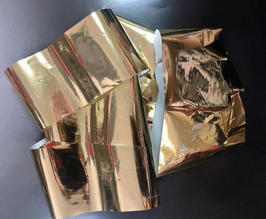 Фольга переводная, для литья, золотая, фото 2