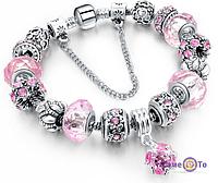 Браслет Pandora Пандора Шарм (репліка), 1001197, браслет pandora, браслет pandora купити, pandora браслет