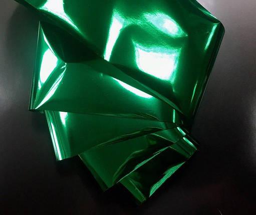 Фольга переводная, для литья, глянцевая зеленая, фото 2