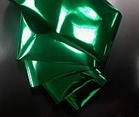 Фольга переводная, для литья, глянцевая зеленая
