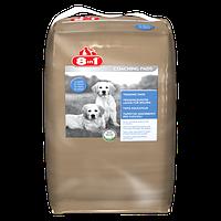 8in1 Приучающие пеленки для собак и щенков 57 х 56 см, 30 шт