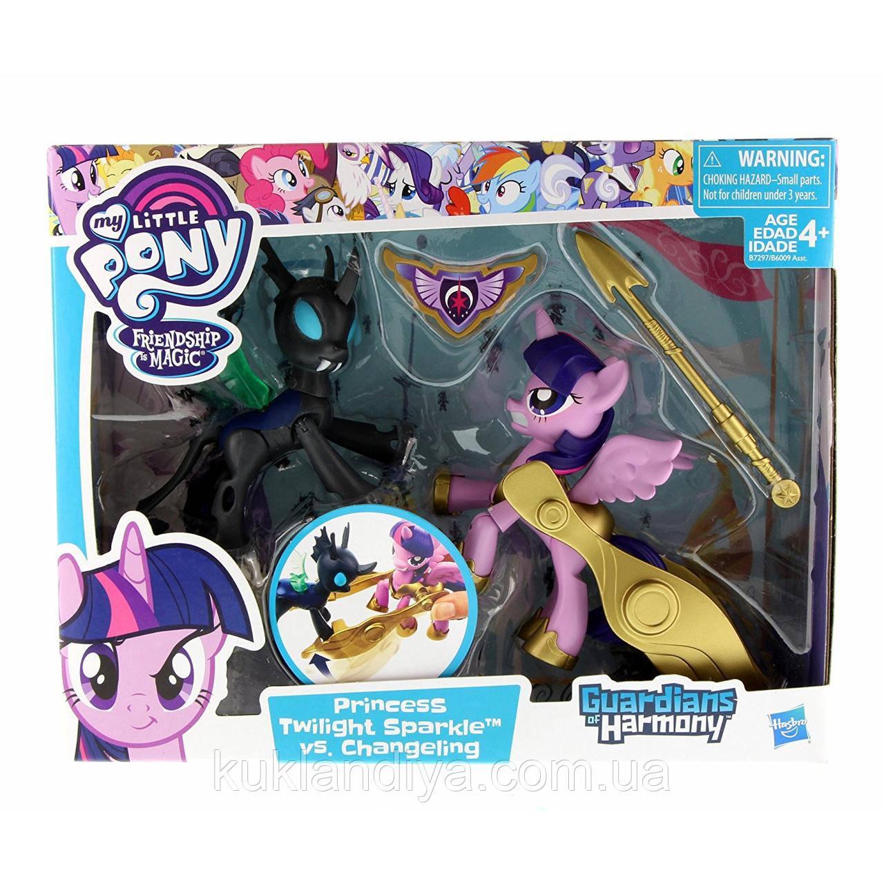 Набір My Little Pony Принцеса Твайлайт проти Чейнжелинга серії Хранителі гармонії