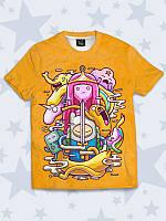 Детская футболка Adventure Time art