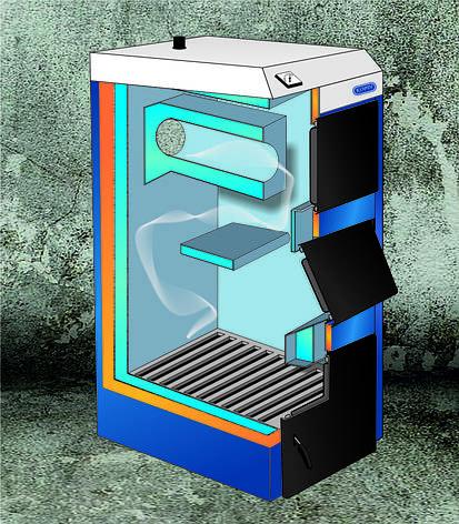 Твердопаливний котел Корді АОТВ-12СТ, фото 2