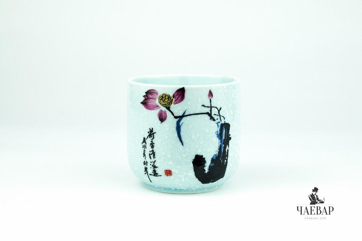 """Пиала для чая белая, """"Японский стиль"""", 102 мл"""