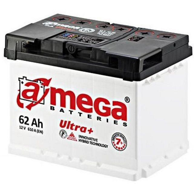 Автомобільний акумулятор A-Mega 6СТ-62 АзЕ Ultra