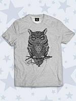 Детская футболка Задумчивая сова