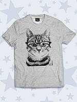 Детская футболка Полосатый кот