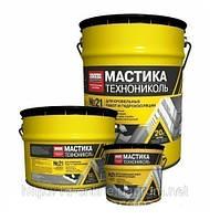 Мастика битумно-полимерная ТехноНИКОЛЬ №21 ТЕХНОМАСТ, 10 кг