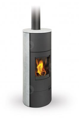 LUGO 02 W камінь - піч з теплообмінником