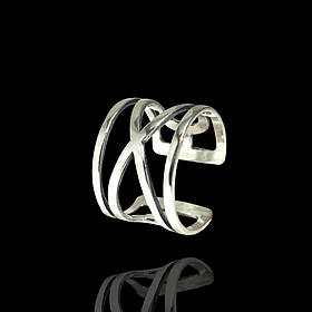 Серебряное фаланговое кольцо, 3,7 грамма
