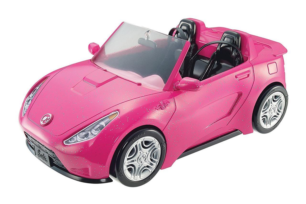 Барби гламурный блестящий кабриолет Barbie Glam Convertible Doll Vehicle Mattel DVX59
