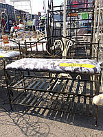 Полка диван в прихожую с мягким сидением 90х30 G-501