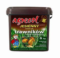 Agrecol/Агрекол, 5 кг — осеннее фосфорно-калийное удобрение для газонов