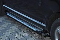 Боковой обвес для внедорожников Volkswagen Touareg Х5-тип