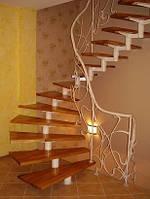 Кованая лестница арт.pvl.2 /5600грн. + перила 4320грн.