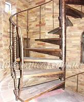 Кованая лестница арт.vl.5 /3680грн. + перила 2560грн.