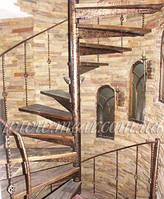 Кованая лестница арт.vl.5 / 3680грн. + перила 2560грн.