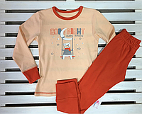Дитяча трикотажна піжаму для дівчинки ТМ Фламінго ріст 116, фото 1
