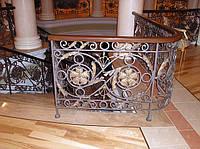 Кованые перила для лестниц арт.Lo.1