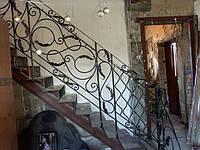 Кованые перила для лестниц арт.Lo.4
