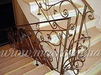 Кованые перила для лестниц арт.Lo.6