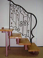 Кованые перила для лестниц арт.Lo.8