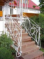 Кованые перила для лестниц арт.kp.8