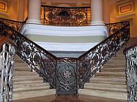 Кованые перила для лестниц арт.Lo.2
