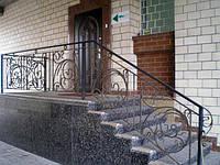 Кованые перила для лестниц арт.Lo.10