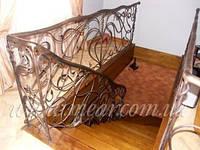 Кованые перила для лестниц арт.Lo.11
