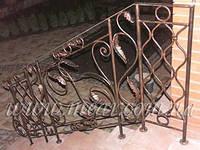 Кованые перила для лестниц арт.kp.9