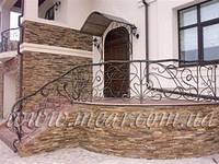 Кованые перила для лестниц арт.kot.2