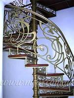 Кованые перила для лестниц арт.vl.1