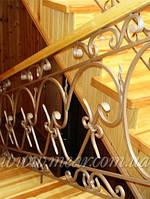 Кованые перила для лестниц арт.Lo.3