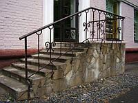 Кованые перила для лестниц арт.kp.1