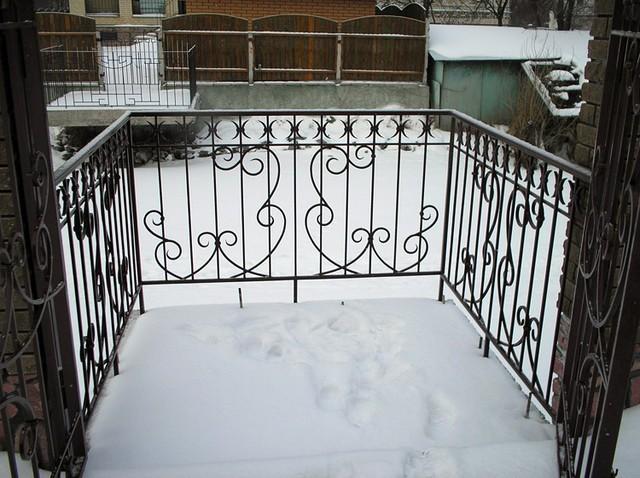 Балконное ограждение арт.bo.28 - ЧП Морозов в Киеве