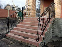 Кованые перила для лестниц арт.kp.2