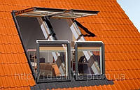 Мансардное окно-балкон Факро (FAKRO) FGH-P2 V Galeria CD  78x255 cм