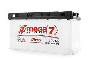 Автомобільний акумулятор A-mega 6СТ-105 Ultra 105 ah R L