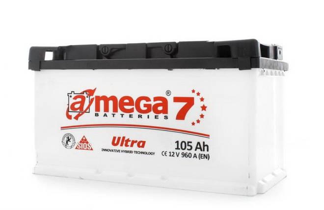 Автомобільний акумулятор A-mega 6СТ-105 Ultra 105 ah R L, фото 2