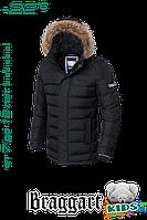 """Куртка детская зимняя Braggart """"Kids"""" (чёрная), в ассортименте"""