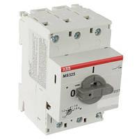 Автомат защиты и ручного пуска электродвигателей ABB MS325-0.16, 1SAM150000R1001